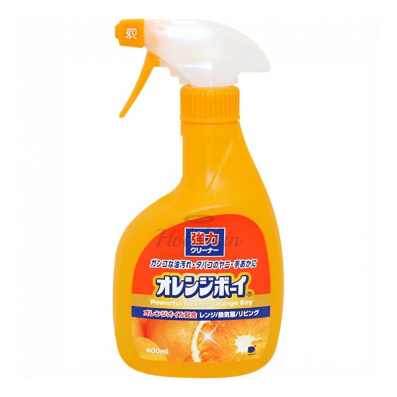 Купить Многоцелевой чистящий гель-спрей Funs, Очиститель сверхмощный для дома с ароматом апельсина, Япония