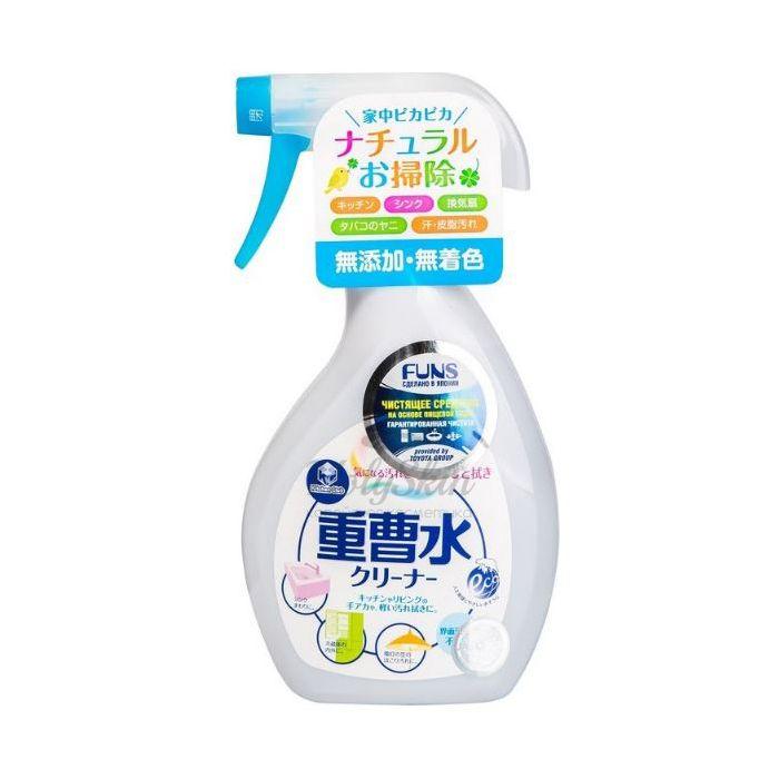 Купить Универсальное чистящее средство на основе пищевой соды Funs, Спрей чистящий для дома на основе пищевой соды, Япония