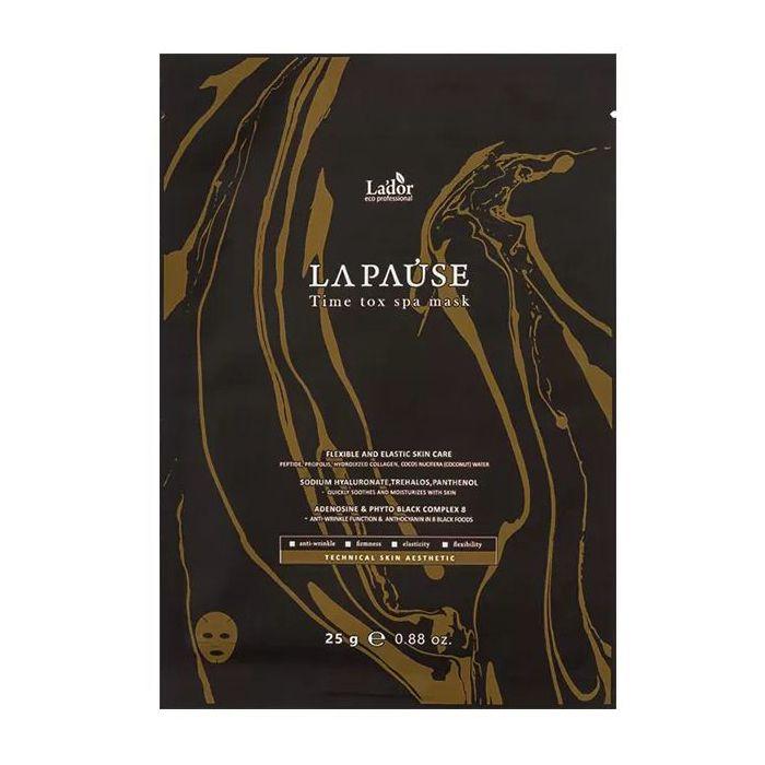 Купить Антивозрастная тканевая маска для лица La'dor, La-Pause Time Tox Spa Mask, Южная Корея