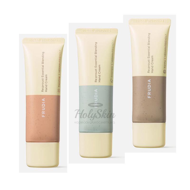 Крем для рук с маслом ши и эфирными маслами Frudia — Essential Blending Hand Cream