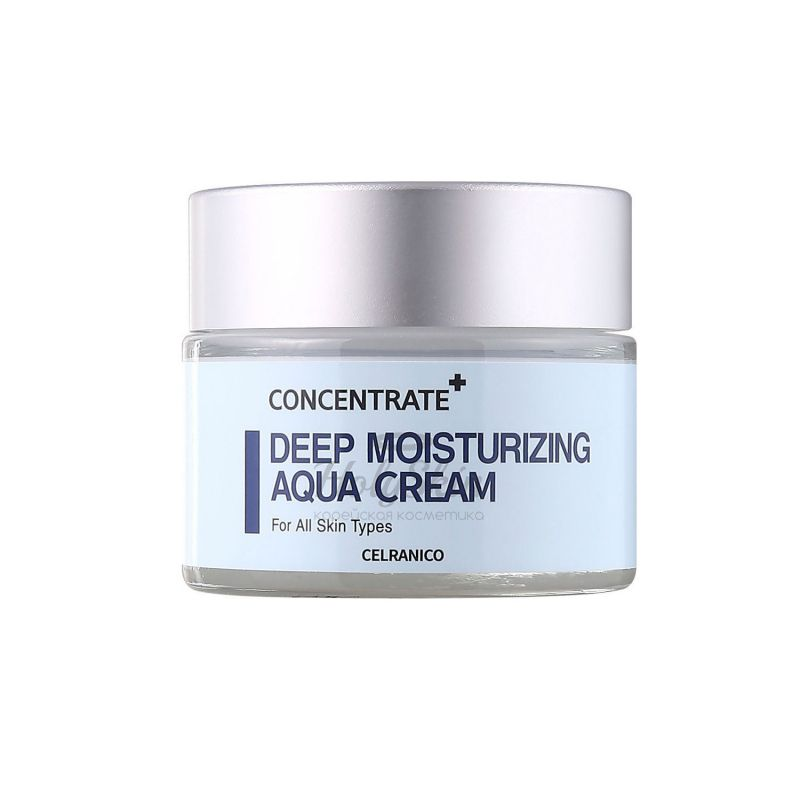 Купить Крем для глубокого увлажнения кожи CELRANICO, Deep Moisturizing Aqua Cream, Южная Корея