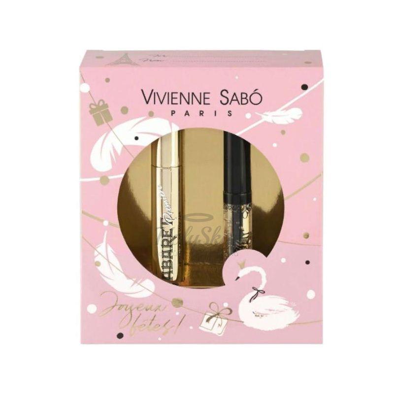 Купить Подарочный набор из туши для ресниц и геля для ресниц и бровей Vivienne Sabo, Cabaret Premiere 01 and Fixateur 02, Франция