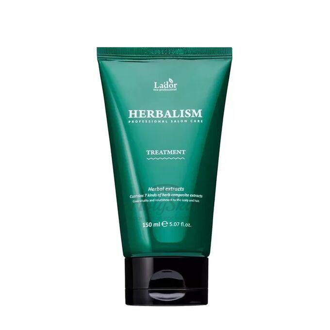 Купить Маска для интенсивного ухода за волосами с аминокислотами и травяными экстрактами La'dor, Herbalism Treatment, Южная Корея