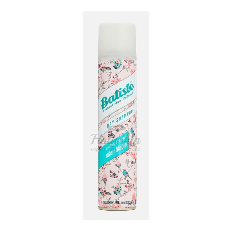 Купить Сухой шампунь для волос Batiste, Batiste Eden Bloom Dry Shampoo, Великобритания