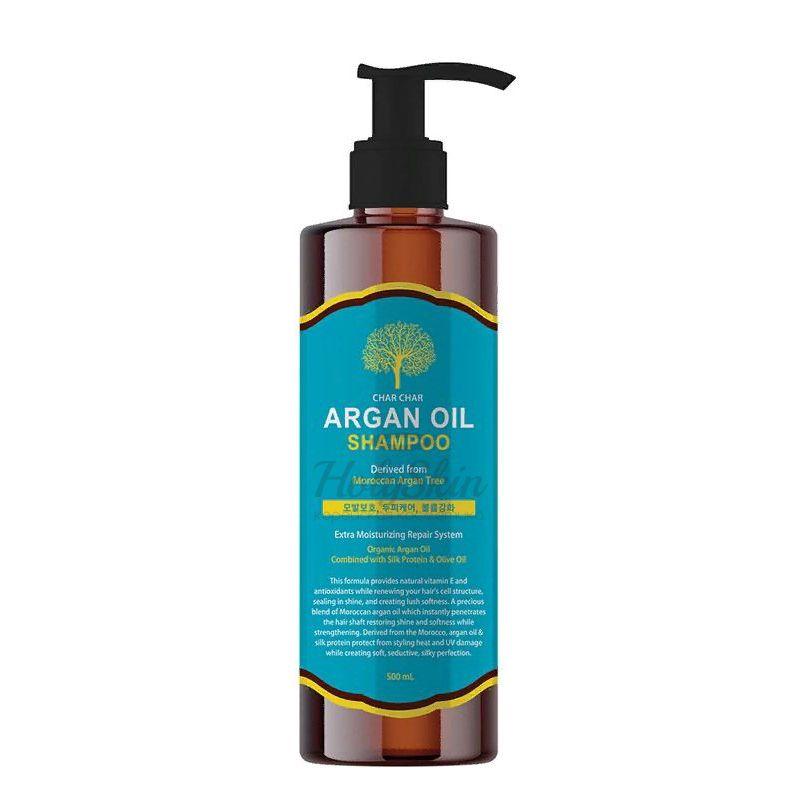 Шампунь для волос с аргановым маслом Evas