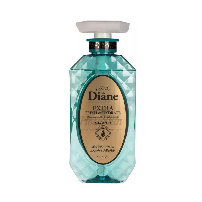 Кератиновый шампунь для волос Свежесть Moist Diane