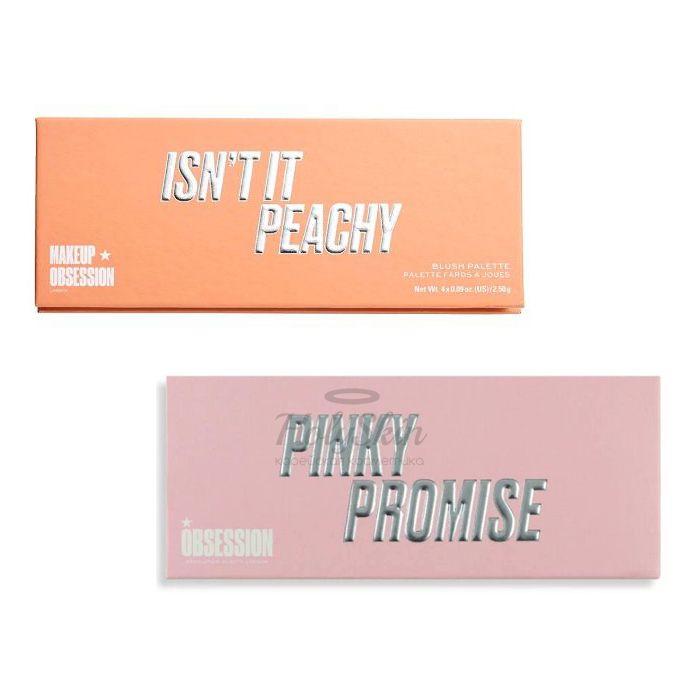 Купить Палетка высокопигментированные румян MAKEUPOBSESSION, Makeup Obsession Blush Palette, Великобритания