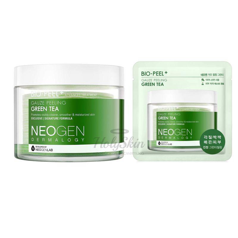 Bio-Peel Gauze Peeling Green Tea пилинг-пэды для лица от neogen dermalogy купить