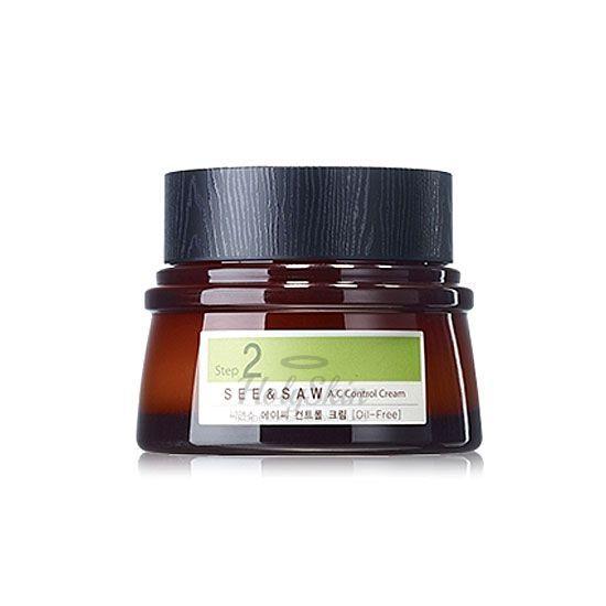 Купить Крем для жирной и проблемной кожи The Saem, See and Saw AC Control Cream, Южная Корея
