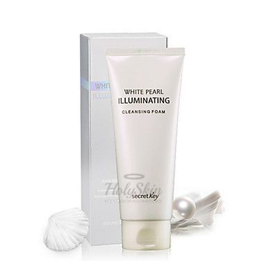 White Pearl Illuminating Cleansing Foam Secret Key отзывы