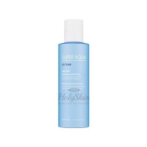Купить Увлажняющая эмульсия для лица Missha, Super Aqua Ice Tear Emulsion, Южная Корея
