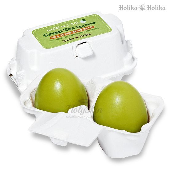 Green Tea Egg Soap Holika Holika