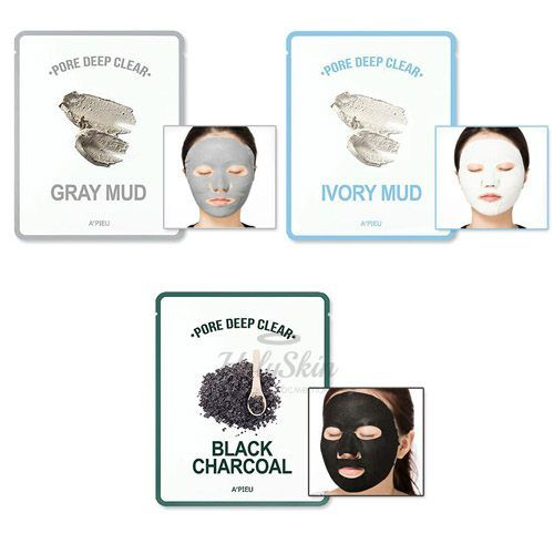 Купить Тканевая маска A'Pieu, Pore Deep Clear Mask, Южная Корея