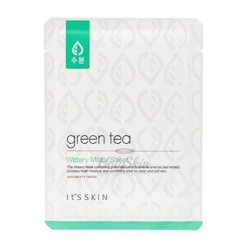 Купить Увлажняющая тканевая маска It's Skin, Green Tea Watery Mask Sheet, Южная Корея