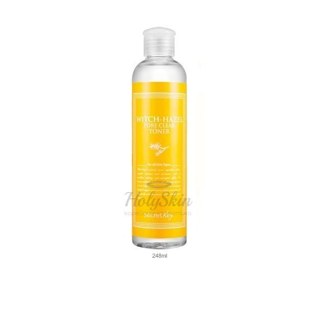 Тонер с гамамелисом Secret Key — Witchhazel Pore Clear Toner