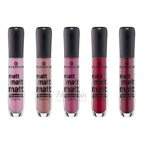 Купить Матовый блеск для губ Essence, Matt Matt Matt Lipgloss, Германия