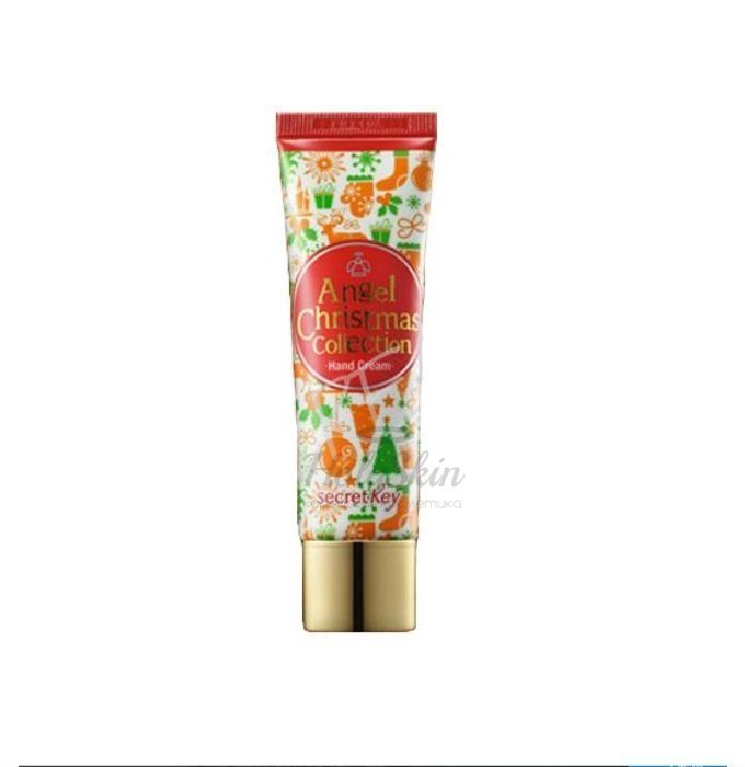 Angel Christmas Collection Hand Cream Bulgarian Rose Secret Key