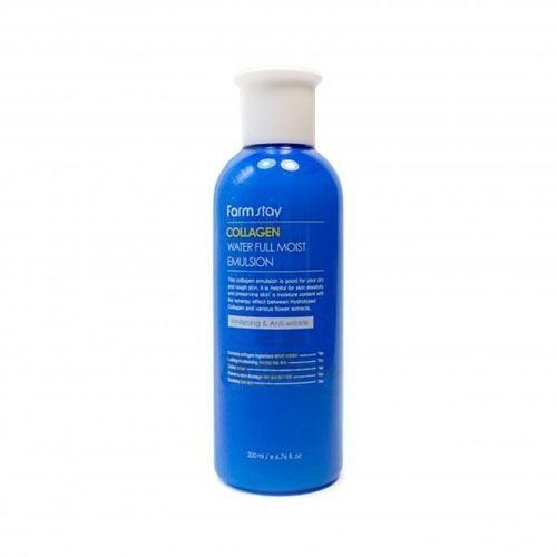 Купить Антивозрастная эмульсия с коллагеном Farmstay, Collagen Water Full Moist Emulsion, Южная Корея