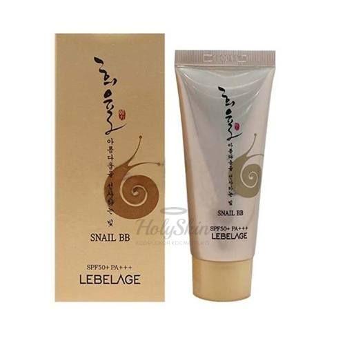 Купить BB крем с муцином улитки Lebelage, Heeyul Premium Snail BB Cream, Южная Корея