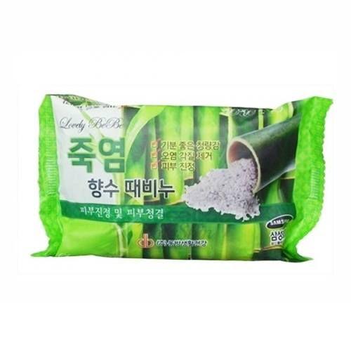 Купить Мыло с бамбуковой солью Juno, Lovelybebe Perfume Peeling Soap Bamboo Salts, Южная Корея