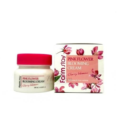 Pink Flower Blooming Cream Cherry Blossom отзывы