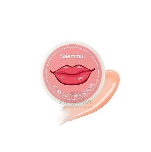 Купить Ночная маска для губ The Saem, Saemmul Fruits Lip Sleeping Pack, Южная Корея