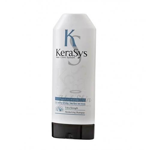 Шампунь для волос с кератином Kerasys, Hair Clinic System Moisture Shampoo 180g, Южная Корея  - Купить