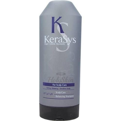 Купить Шампунь для лечения сухой кожи головы Kerasys, Hair Clinic System Scalp Care Balancing Shampoo 180ml, Южная Корея