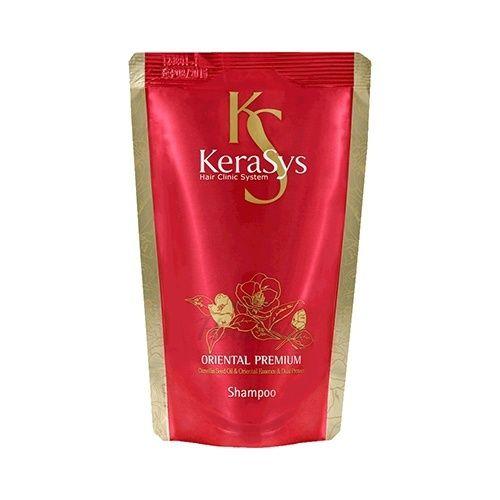 Купить Шампунь премиум класса для слабых и поврежденных волос Kerasys, Oriental Premium Shampoo Refill, Южная Корея