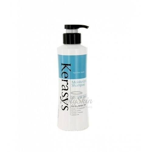 Купить Увлажняющий шампунь Kerasys, Hair Clinic System Moisture Shampoo 400g, Южная Корея