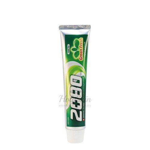Купить Зубная паста с зеленым чаем Kerasys, Dental Clinic 2080 Green Fresh, Южная Корея