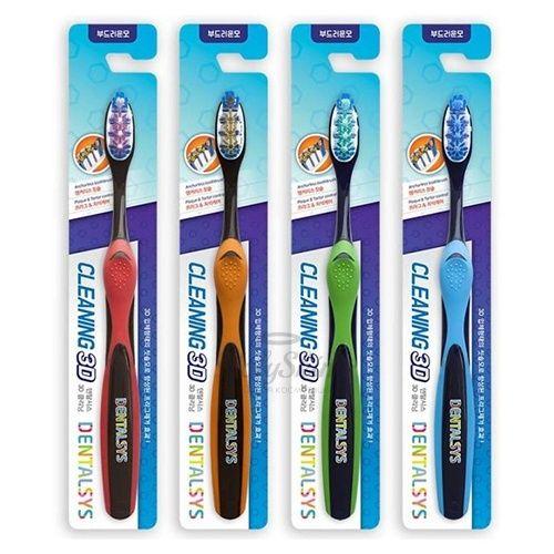 Купить Зубная щетка с 3D эффектом Kerasys, Dentalsys Cleaning 3D, Южная Корея