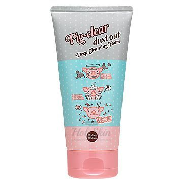 Pig Clear Dust Out Deep Cleansing Foam Holika Holika купить