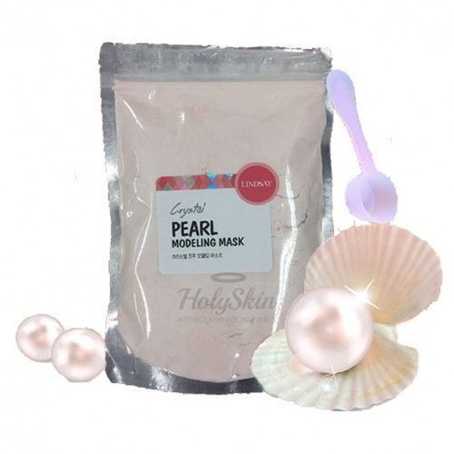 Купить Альгинатная маска с жемчугом Lindsay, Pearl Modeling Mask Pack, Южная Корея