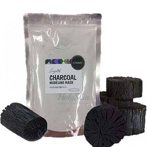 Купить Альгинатная маска с древесным углем Lindsay, Charcoal Modeling Mask Pack, Южная Корея