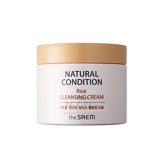 Natural Condition Rice Cleansing Cream The Saem отзывы