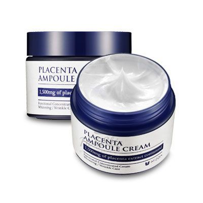 Купить Плацентарный крем Mizon, Placenta Ampoule Cream, Южная Корея