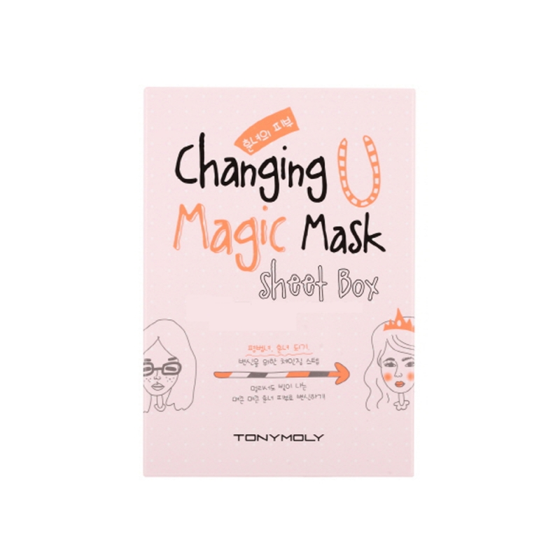 Набор тканевых масок Tony Moly Changing U Magic Mask Sheet Box