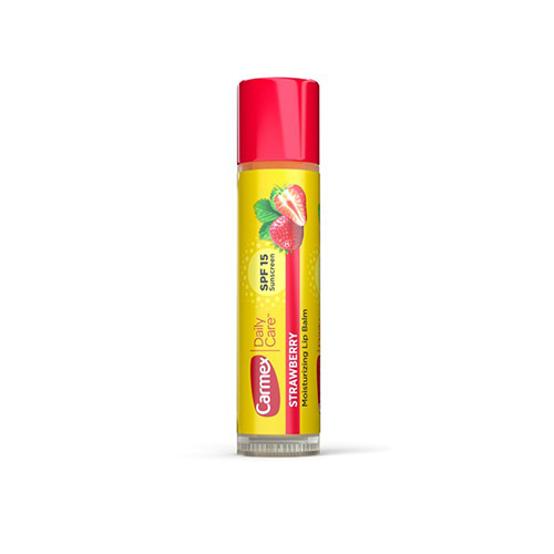 Бальзам для губ с ароматом клубники Carmex Carmex Lip Balm Strawberry 7g rosebud perfume company brambleberry rose lip balm