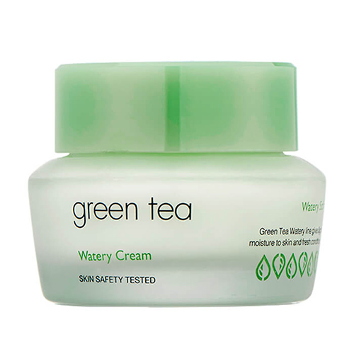 Крем для лица с экстрактом зеленого чая It's Skin Green Tea Watery Cream массажный стол us medica olimp