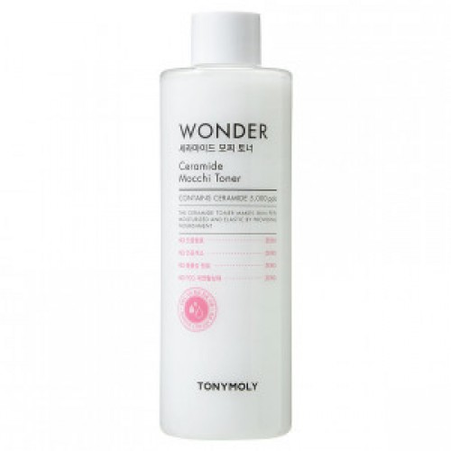 Увлажняющий тонер для лица с керамидами Tony Moly Wonder Ceramide Mocchi Toner тоник tony moly pure eco bamboo clear water fresh toner объем 300 мл
