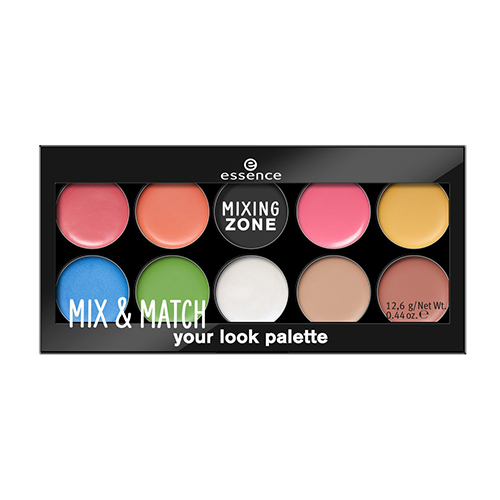 Палетка для макияжа губ, глаз и лица Essence Mix and Match Your Look Palette small beginnings mix and match