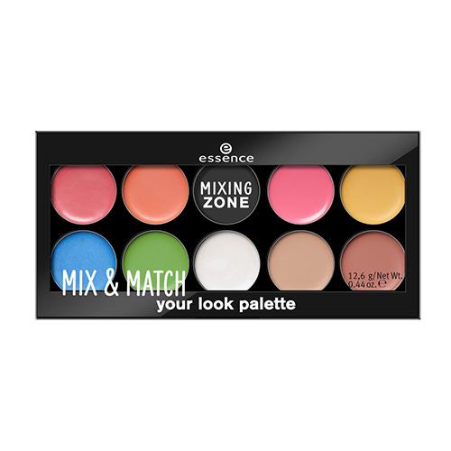 все цены на Палетка для макияжа губ, глаз и лица Essence Mix and Match Your Look Palette