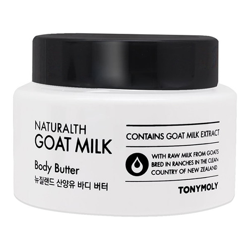 Крем для тела с козьим молоком Tony Moly Naturalth Goat Milk Body Butter спонж tony moly water latex free sponge 1 шт
