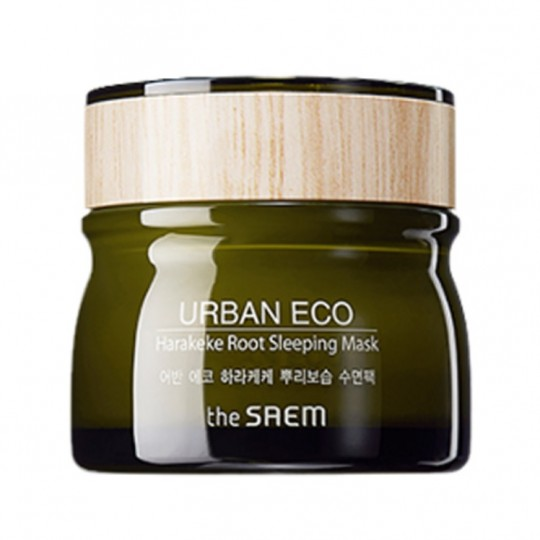 Маска ночная с экстрактом новозеландского льна The Saem Urban Eco Harakeke Root Sleeping Mask маска the saem punch sleeping pack peach sleeping pack