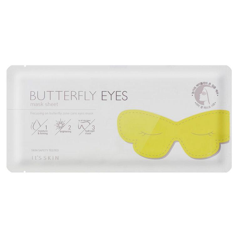 Увлажняющая маска с коллагеном для кожи вокруг глаз It's Skin Butterfly Eyes Mask Sheet solar auto darkening eyes mask welding helmet welding mask eyeshade patch eyes goggles for welder under summer