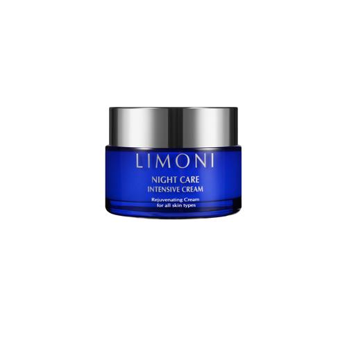 Ночной крем для лица Limoni Night Care Intensive Cream крем limoni collagen booster intensive hand cream 50 мл