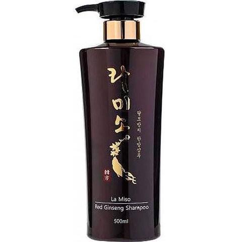 Шампунь с вытяжкой из женьшеня La Miso La Miso Red Ginseng Shampoo шампунь llang red ginseng pure healing hair shampoo 500 мл