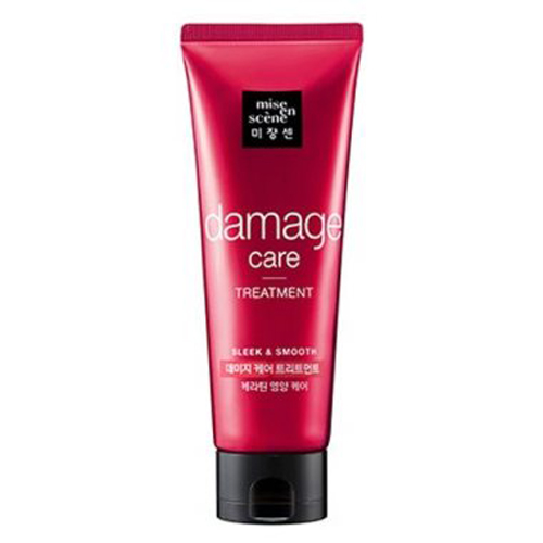 Восстанавливающая маска для поврежденных волос Mise En Scene Damage Care Treatment Pack 180ml kocostar маска восстанавливающая для поврежденных волос конский хвост ggong ji hair pack 8 мл