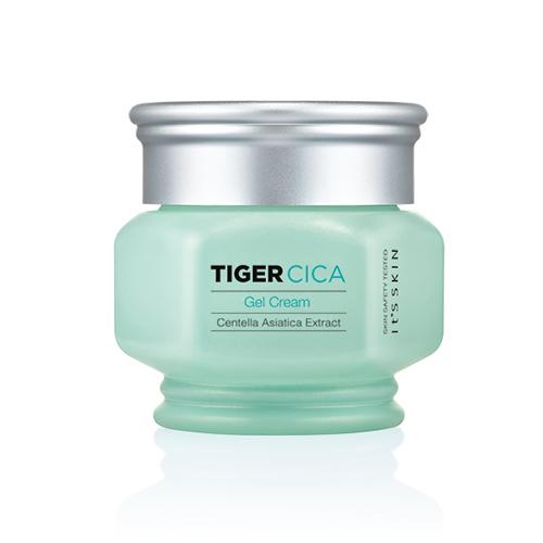Tiger Cica Gel Cream- антиоксидант и возвращение молодости It's Skin Tiger Cica Gel Cream tiger cica moisturizing balm бальзам для омоложения лица it s skin tiger cica moisturizing balm